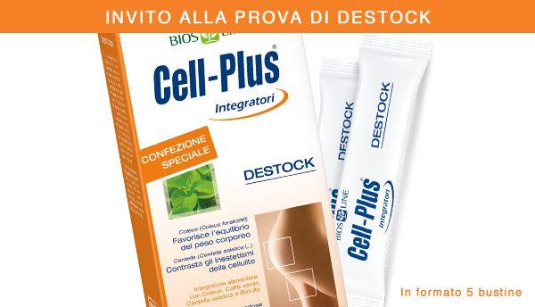 (Italiano) Approfitta della promozione per provare tutta l'efficacia di Cell-Plus Destock