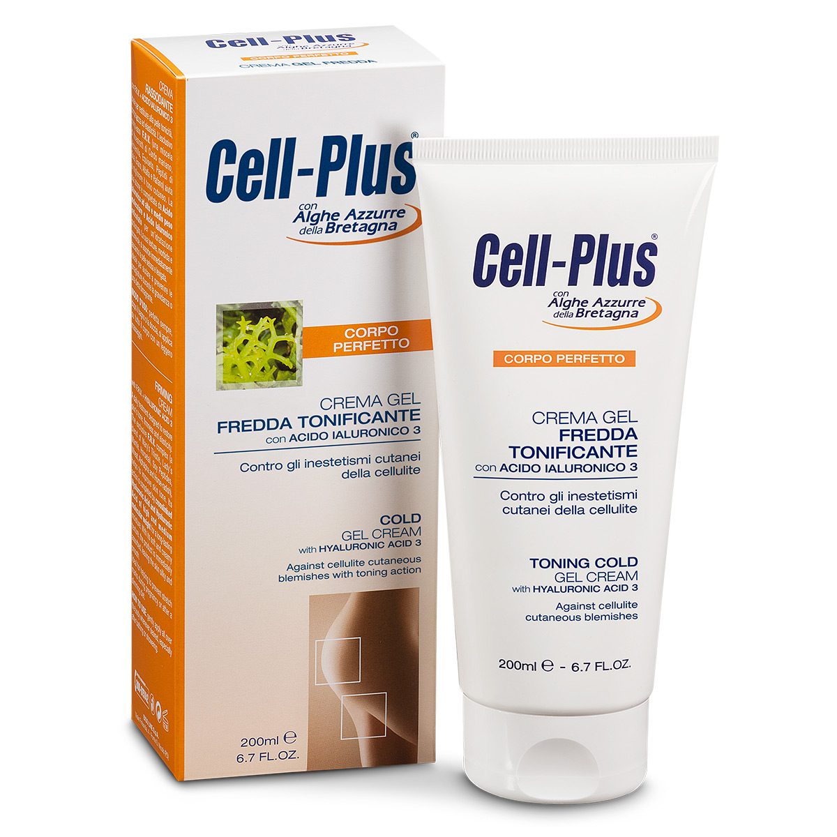Cell-Plus Crema Gel Fredda Tonificante
